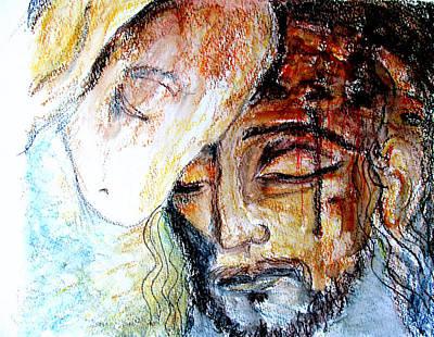 Mixed Media - Sacrifice Lamb Of God by Sarah Hornsby