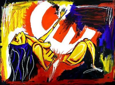 Austerity Painting - Sacrifice by Stuart Bracewell