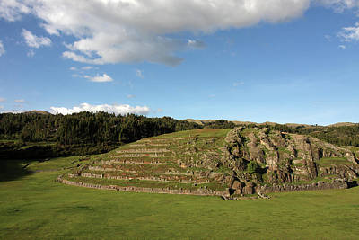 Photograph - Sacsaywaman Complex, Cusco, Peru by Aidan Moran