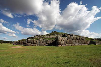 Photograph - Sacsaywaman Complex, Peru  by Aidan Moran