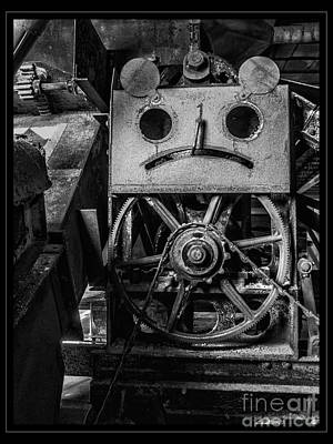 Photograph - Sad Abandoned Machinery by Darleen Stry