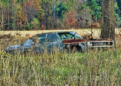Photograph - Sad Bel Air by Victor Montgomery