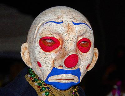 Sad Clown Painting - Sad Clown by David Lee Thompson