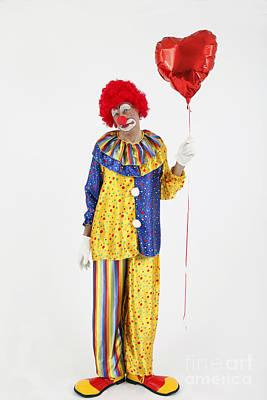 Sad Clown Photograph - Sad Clown by Rolf Fischer