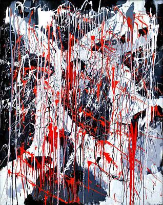 Sad Days Indeed Art Print by Asbjorn Lonvig