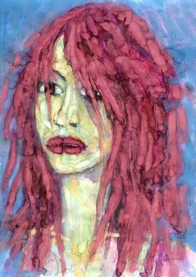 Sad Eyes Art Print