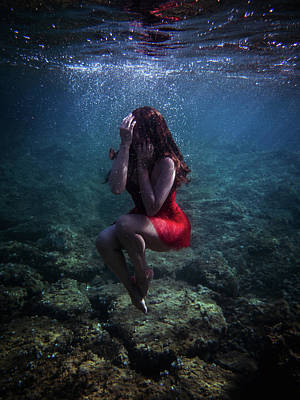 Photograph - Sad Mermaid by Gemma Silvestre