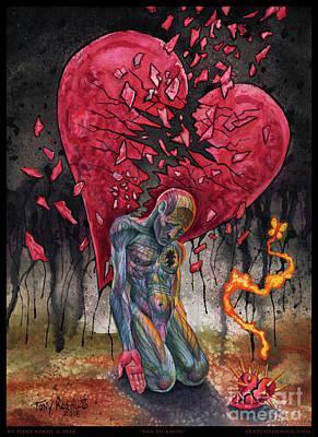 Painting - Sad To Know by Tony Koehl