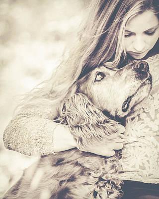 Dog Lovers Photograph - Sad Together by Debi Bishop