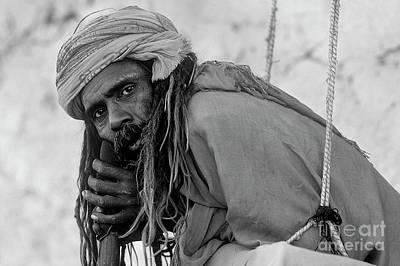 Photograph - Saddhu Renunciate - Pushkar India by Craig Lovell