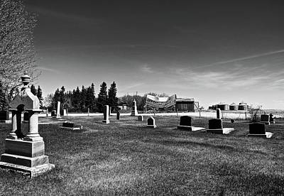 Photograph - Saddle Church And Graveyard 2 by Brian Sereda