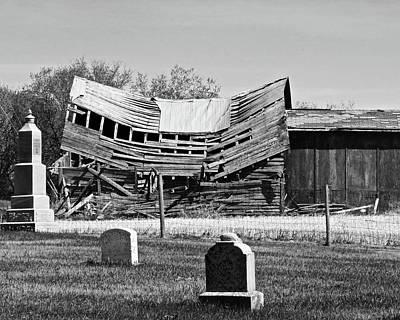 Photograph - Saddle Church And Graveyard by Brian Sereda