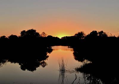 Photograph - Saddle Creek Spring Sunset by Carol Bradley