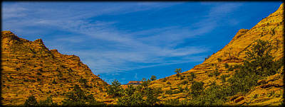 Photograph - Saddle Formation Zion National Park by Roger Passman