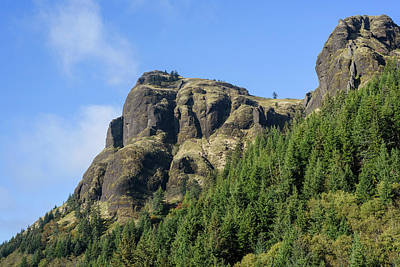 Photograph - Saddle Mountain Portrait by Robert Potts