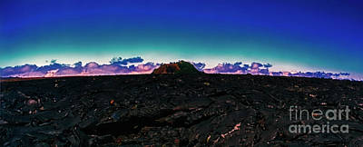 Photograph - Saddle Road Humuula Lava Field Big Island Hawaii 309010039 by Tom Jelen