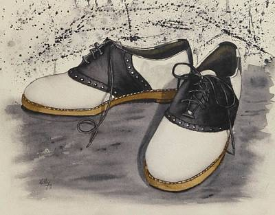 Painting - Saddle Shoes by Kelly Mills
