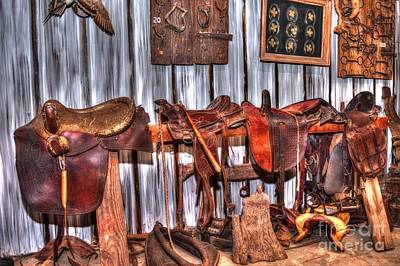 Equestrian Clothes Photograph - Saddle Up by D S Images