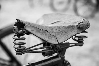 Photograph - Saddle Worn by Stewart Scott