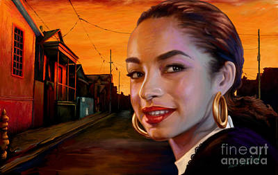 Painting - Sade by Sam Shacked