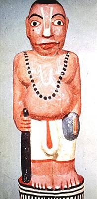 Sadhu Painting - Sadhu Sculpture, India by Barron Holland