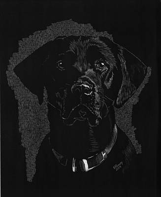 Sadie Art Print by Norma Rowley
