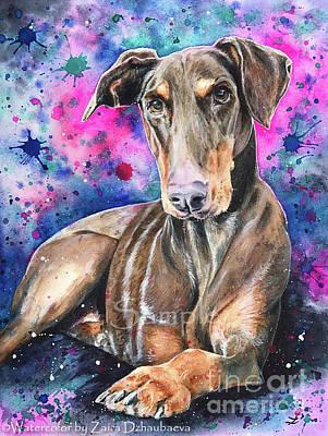 Painting - Sadie by Zaira Dzhaubaeva