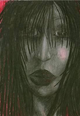 Creativity Drawing - Sadly Me by Wojtek Kowalski