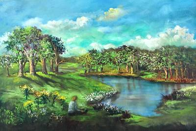 Painting - Serenity And Silence by Randol Burns