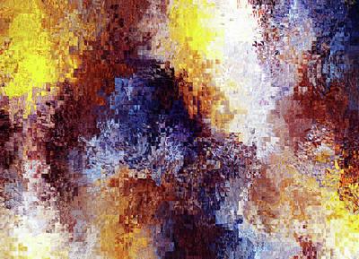Depression Mixed Media - Sadness Abstract by Georgiana Romanovna