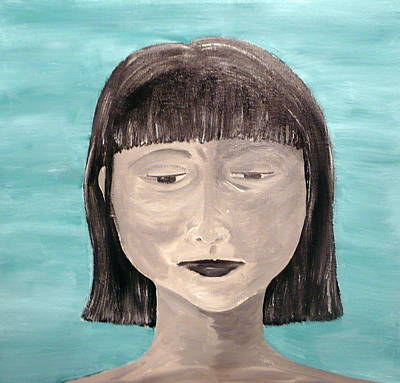Sadness Art Print by Jennifer Hernandez