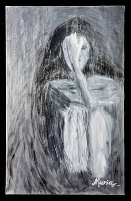 Sadness Print by Marinela Croitoru