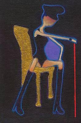 Little Girls98 Painting - Sado Sutan by Ricky Sencion