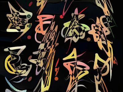 Digital Art - Saeta  by Philip Openshaw