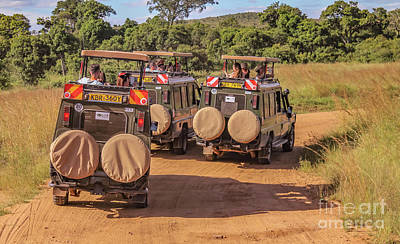Photograph - Safari Trip by Cami Photo