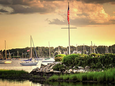 Photograph - Safe Harbor Bristol Ri by Tom Prendergast