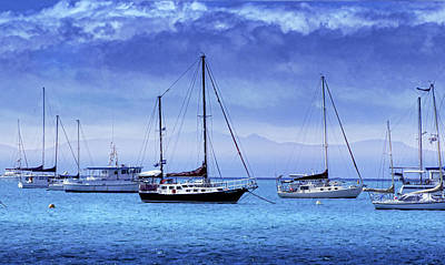 Yacht Photograph - Safe Harbor by Holly Kempe