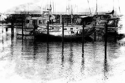Photograph - Safe Harbor by Karen McKenzie McAdoo