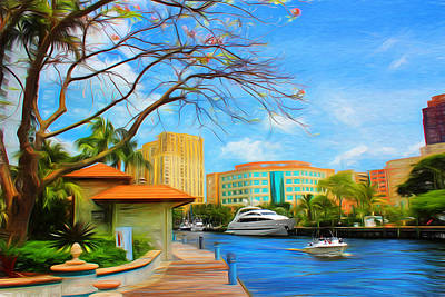 Safe Harbor Series 60 Art Print