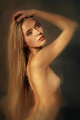 Eroticism Digital Art - Safe by Psychonaut Brush
