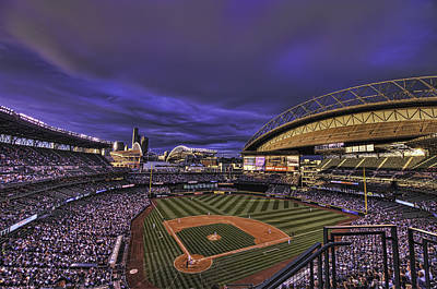 Safeco Field Art Print