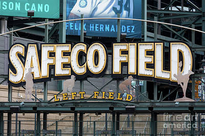 Photograph - Safeco Field by Jerry Fornarotto