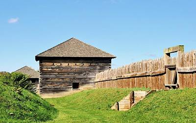 Photograph - Safety At Fort Meigs  by Michelle McPhillips