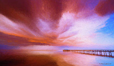 Evening Scenes Photograph - Safety Harbor by Marvin Spates