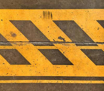 Photograph - Safety Lines by Ferran Serra