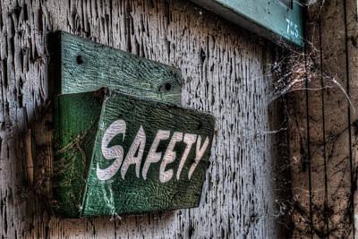 Safety Art Print
