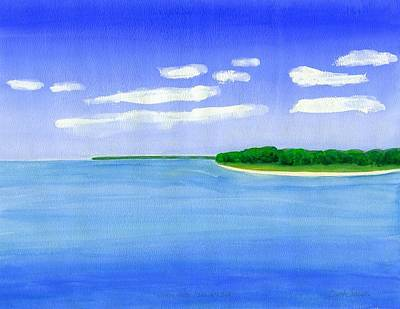 Painting - Sag Harbor, Long Island by Dick Sauer