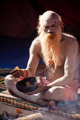 India Babas Photograph - Sage 1 by John Battaglino