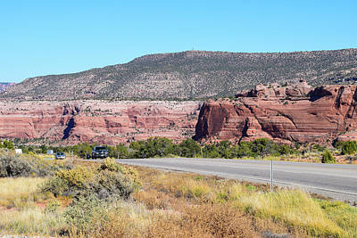 Photograph - Sage And Red Rocks by Tom Cochran