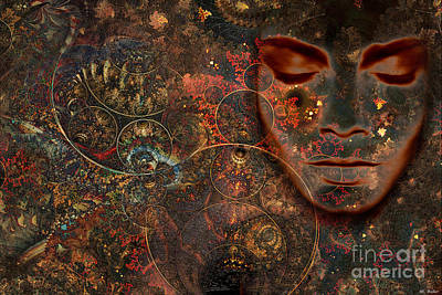 Mixed Media - Sage And Science by ML Walker